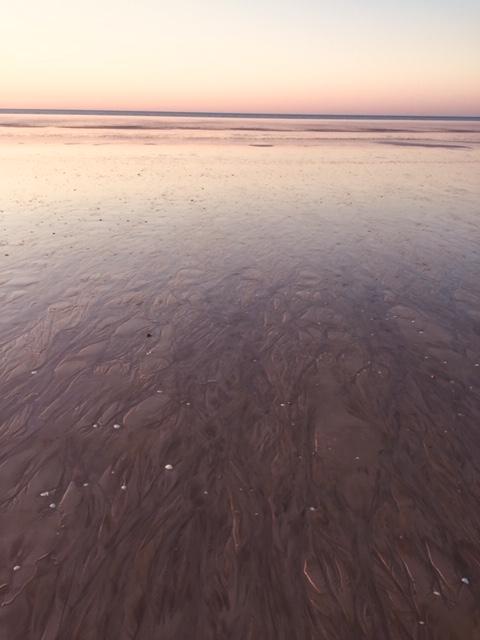 Low tide Eighty Mile Beach