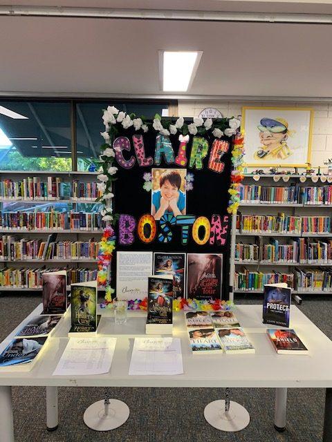 Broome Library Display
