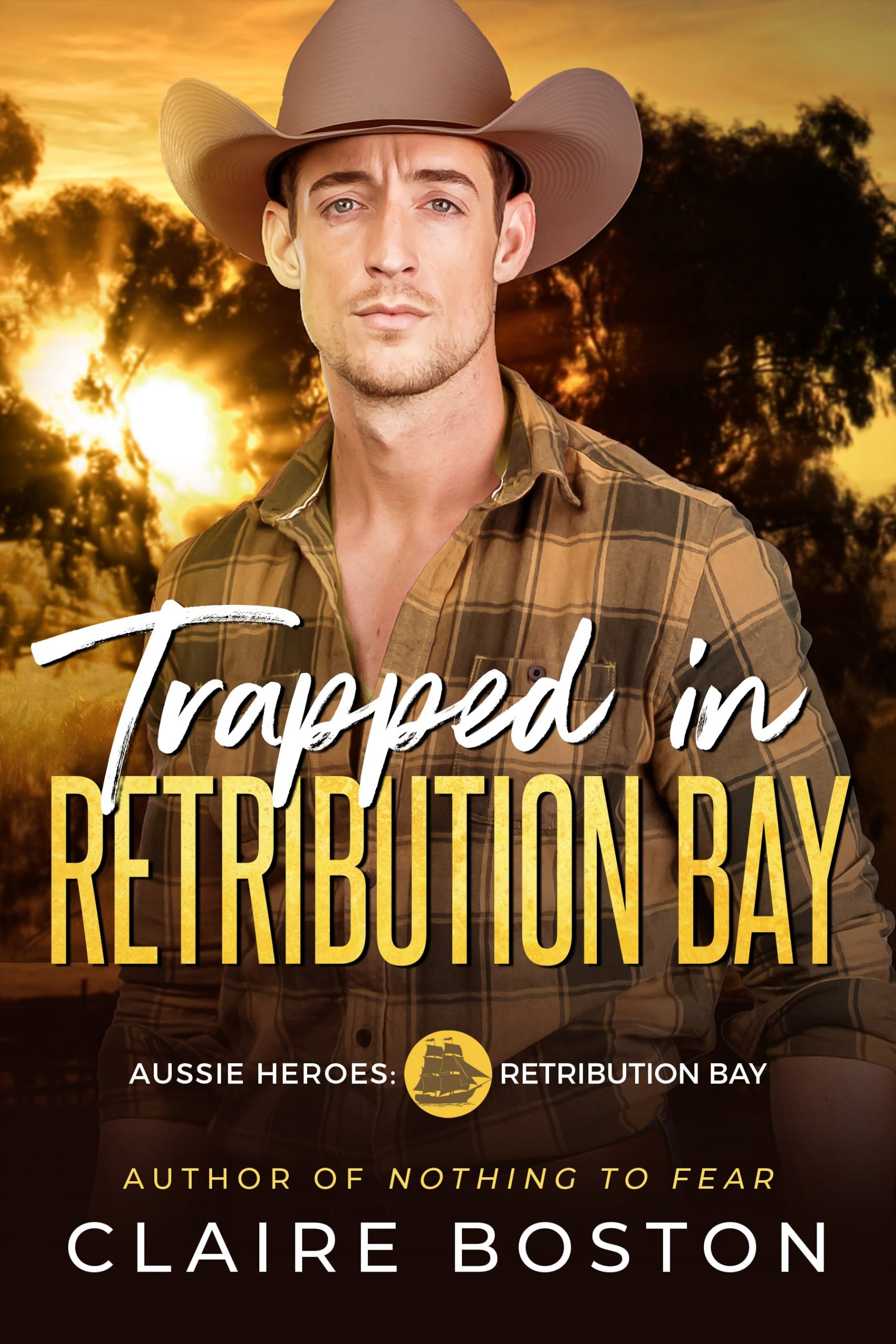 Trapped In Retribution Bay Cover