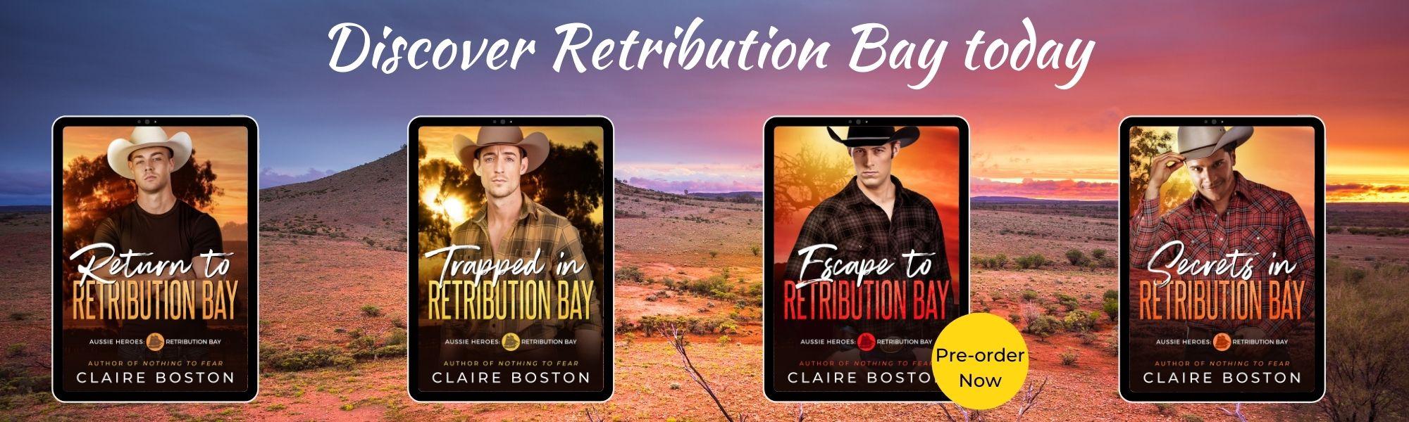 Books 1-4 of Aussie Heroes: Retribution Bay